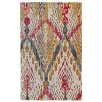 Grand Bazaar Boudreau Multi Wool Rug - 5' x 8'