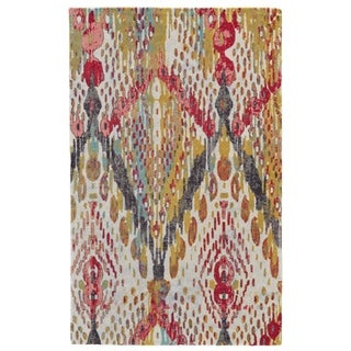 Grand Bazaar Boudreau Multi Wool Rug - 5' x 8'