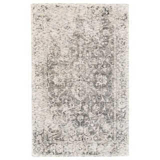 Grand Bazaar Michener Gray Wool Rug - 2' x 3'