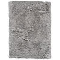 Grand Bazaar Beringer Gray Wool Rug - 5' x 7'