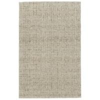 Grand Bazaar Japel Oatmeal Wool Rug - 9'6 x 13'6