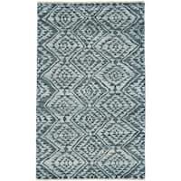 Grand Bazaar Shadan Graphite Wool Area Rug - 8'6 x 11'6