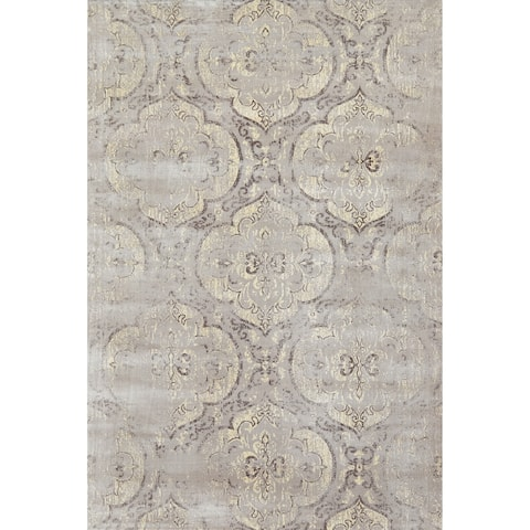 "Grand Bazaar Margaux Graphite Area Rug - 9'2"" x 12'2"""