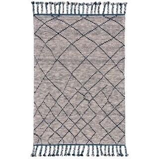 "Grand Bazaar Vail Storm Wool Area Rug - 7'9"" x 9'9"""