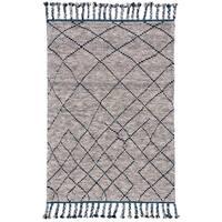 Grand Bazaar Vail Storm Wool Area Rug (7'9 x 9'9)