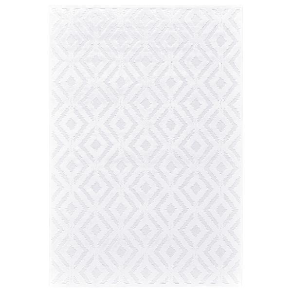 "Grand Bazaar Qazi White/ White Wool Rug - 9'8"" x 12'7"""