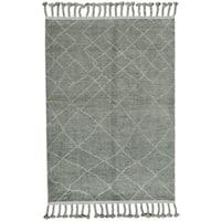 Grand Bazaar Vail Ash Wool Rug (9'6 x 13'6)