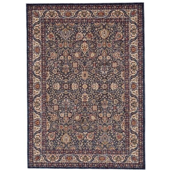 8 X 11 Area Rugs On Sale: Shop Grand Bazaar Moberly Blue/ Ivory Area Rug