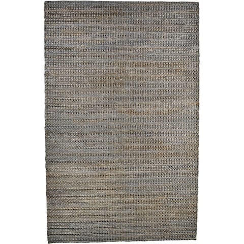 "Grand Bazaar Knox Bluestone Wool Rug (9'-6 X 13'-6) - 9'6"" x 13'6"""