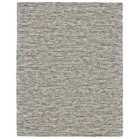Grand Bazaar Zeni Gray Wool Rug - 9'6 x 13'6
