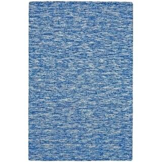 "Grand Bazaar Zeni Azure Wool Rug (9'-6 X 13'-6) - 9'6"" x 13'6"""