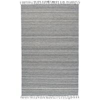 Grand Bazaar Orwell Aqua Wool Rug (10' X 14') - 10' x 14'