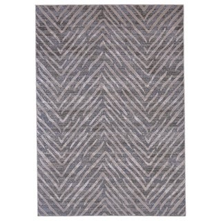 """Grand Bazaar Vanhorn Gray Wool Rug - 10' x 13'2"""""""