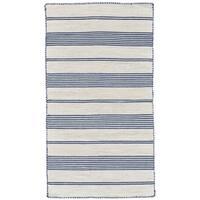 Grand Bazaar Granberg Navy Wool Rug (8' X 11') - 8' x 11'