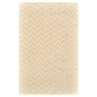 Grand Bazaar Gainey Ivory Wool Rug - 8' x 11'