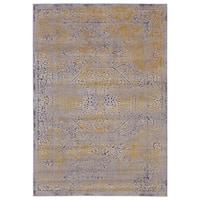 Grand Bazaar Vanhorn Gold/ Sand Wool Rug (10' X 13'-2) - 10' x 13'