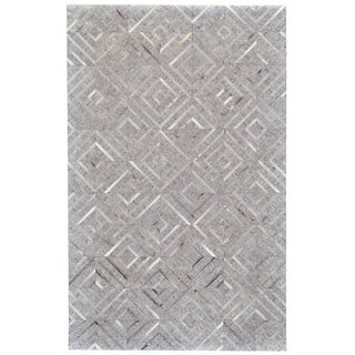 "Grand Bazaar Canady Bisque/ Storm Wool Rug (9'-6 X 13'-6) - 9'6"" x 13'6"""