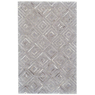 Grand Bazaar Canady Bisque/Storm Wool Rug (9'6 x 13'6)