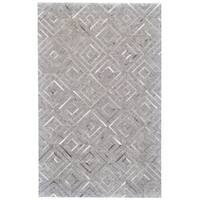 Grand Bazaar Canady Bisque/ Storm Area Rug - 9'6 x 13'6