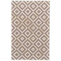Grand Bazaar Canady Ivory/ Burlywood Wool Rug - 9'6 x 13'6