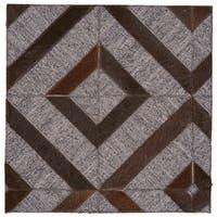 Grand Bazaar Canady Onyx/ Asphalt Wool Rug - 9'6 x 13'6