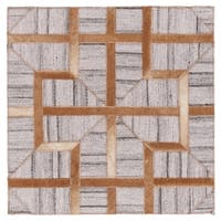 Grand Bazaar Canady Sudan/ Slate Wool Rug (9'-6 X 13'-6) - 9'6 x 13'6