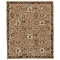 Grand Bazaar Sulli Sage Wool Area Rug - 8' 6 x 11' 6