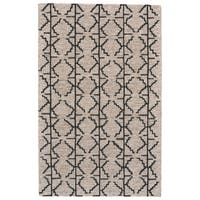 Grand Bazaar Fadden Charcoal/ Grey Wool Area Rug - 9'6 x 13'6