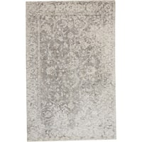 "Grand Bazaar Michener Grey Wool Rug - 9'6"" x 13'6"""