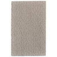 Grand Bazaar Fadden Ivory/Natural Wool Area Rug - 8' x 11'