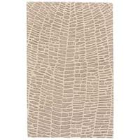 Grand Bazaar Fadden Ivory/Grey Wool Rug - 8' x 11'