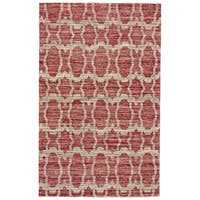 Grand Bazaar Lacombe Red Area Rug - 9'6 x 13'6