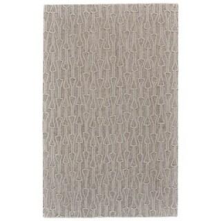 "Grand Bazaar Fadden Ivory/Natural Wool Area Rug - 9'6"" x 13'6"""