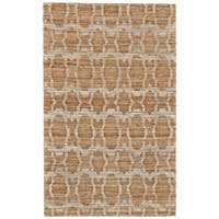 Grand Bazaar Lacombe Gold Area Rug - 9'6 x 13'6