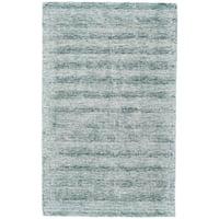 Grand Bazaar Pearl Aqua Wool Rug - 8' x 11'