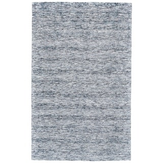 """Grand Bazaar Pearl Blue Wool Rug - 9'6"""" x 13'6"""""""