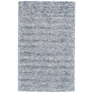 "Grand Bazaar Pearl Blue Wool Rug - 9'6"" x 13'6"""