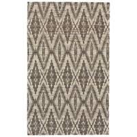 Grand Bazaar Lacombe Silver/ Grey Area Rug - 9'6 x 13'6