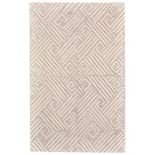Grand Bazaar Fadden Ivory/Natural Cotton and Wool Rug - 8' x 11'