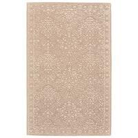 Grand Bazaar Eckels Beige/Ivory Cotton and Wool Rug - 9'6 x 13'6
