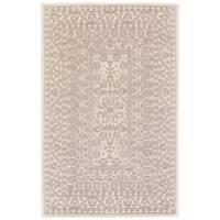 Grand Bazaar Eckels Ivory/Light Grey Wool Rug - 8' x 11'