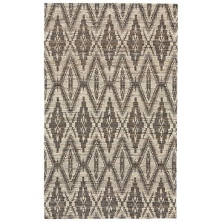 Grand Bazaar Lacombe Silver/ Grey Area Rug - 8' x 11'