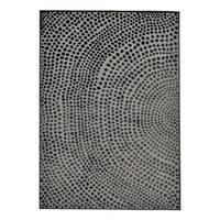 Grand Bazaar Javers Castle/ Dark Gray Wool Rug (10'-4 X 13'-6) - 10' x 14'