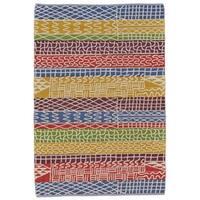 Grand Bazaar Bashia Multicolor Wool Area Rug - 8' x 10'