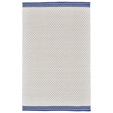 Grand Bazaar Naim Blue Wool Rug - 8' x 10'
