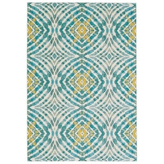 "Grand Bazaar Arsene Teal Area Rug - 5'3"" x 7'6"""