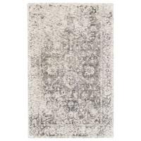 Grand Bazaar Michener Gray Wool Rug - 5' x 8'