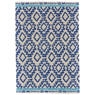 Grand Bazaar Adia Blue Area Rug - 8' x 11'