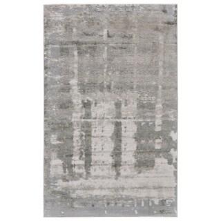 Grand Bazaar Edingburgh Grey/ Taupe Area Rug (8' x 11')
