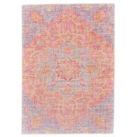 Grand Bazaar Henderson Blush/ Ivory Area Rug - 8' x 11'